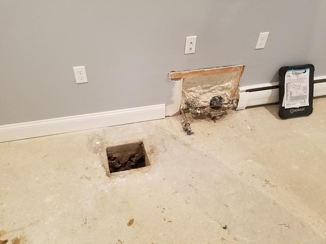 Sump Pump Install in Walpole, MA