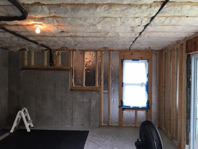 Basement Wall Insulation in Kingston, MA