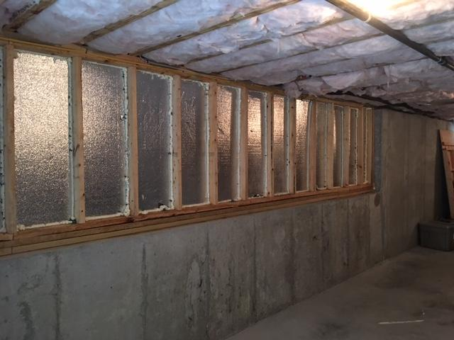 Basement Wall Insulation in Kingston Basement