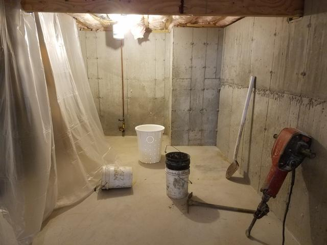 Sump Pump and CleanSpace Installation in Exeter, RI