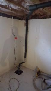 Jamestown, RI Sump Pump Installation