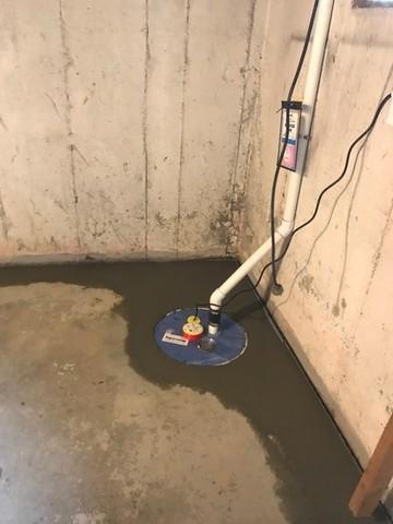 Sump Pump System Installation in Brockton, MA