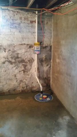 Zoeller Sump Pump Installation in  Lincoln, RI