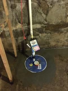 Sump Pump Installation in Lincoln, RI