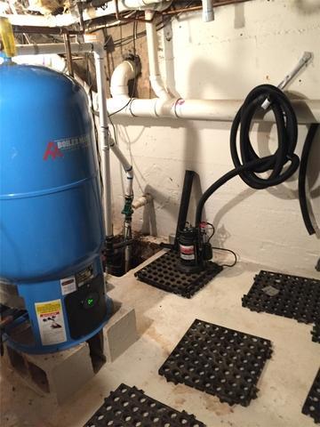 Sump Pump Installation in Warwick, RI