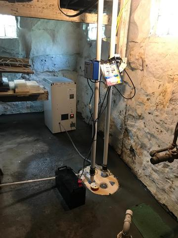 New Bedford, MA Sump Pump Installation