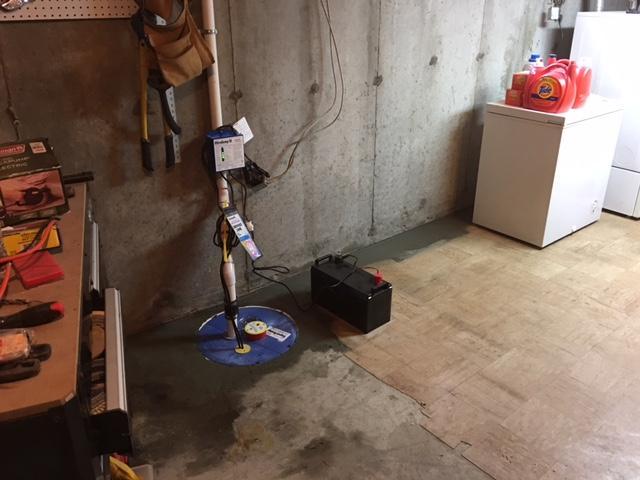 Sump Pump Installation in Brockton, MA