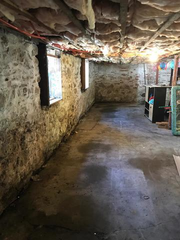 New Bedford Homeowner Keeps Basement Dry