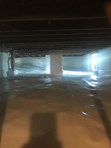 Amazing Crawlspace Transformation in Falmouth, MA