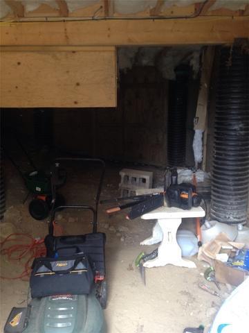 Falmouth, MA Crawlspace- Spray Foam Insulation
