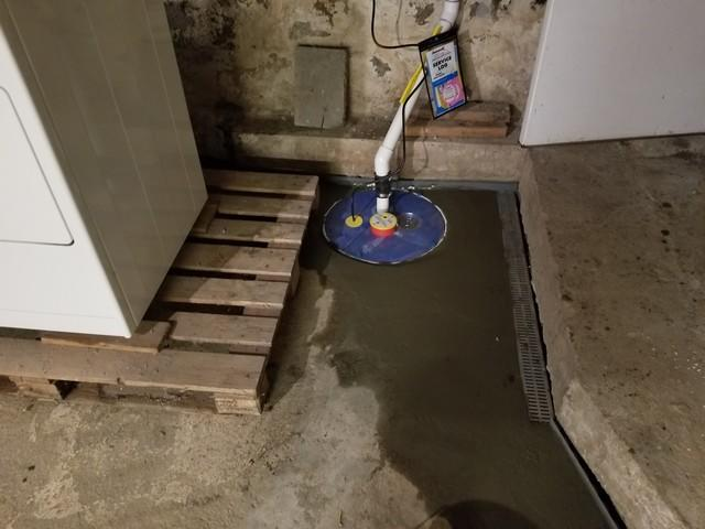 Norwood, MA Sump Pump Upgrade