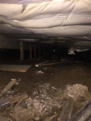 Coventry, RI Crawlspace