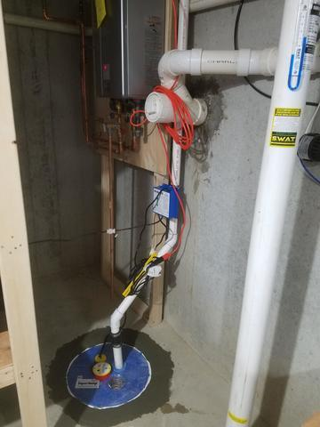 Replacement Sump Pump in Norton, MA