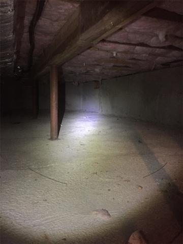 Encapsulated Crawlspace in Sandwich, MA