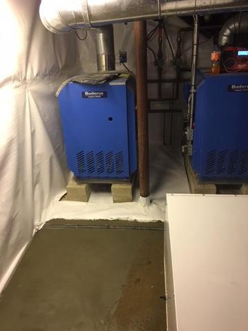 Falmouth, MA Property Has Dry Basement