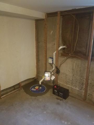 Abington, MA Sump Pump Upgrade