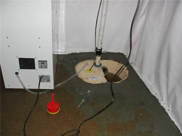 Upgraded Sump Pump in North Datmouth, MA