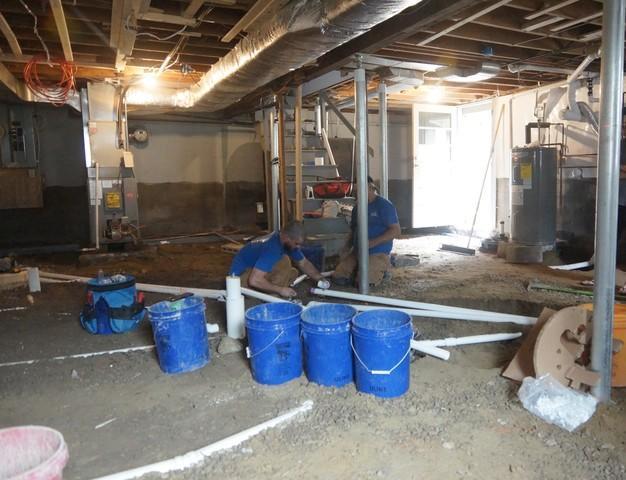 Basement Waterproofing in Easton, MA