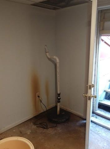 Basement Pump Upgrade in Wrentham, MA