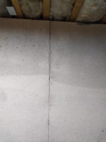 Bourne, MA Wall Crack