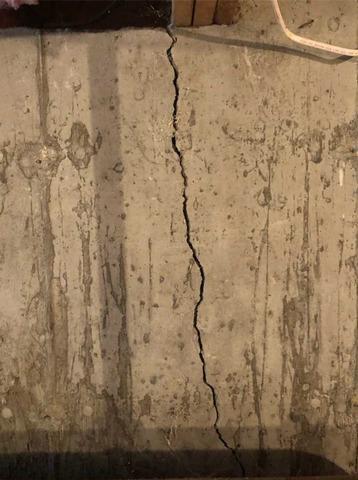 Hanover, MA Wall Crack Seal