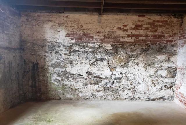 East Greenwich, RI Leaking Wall
