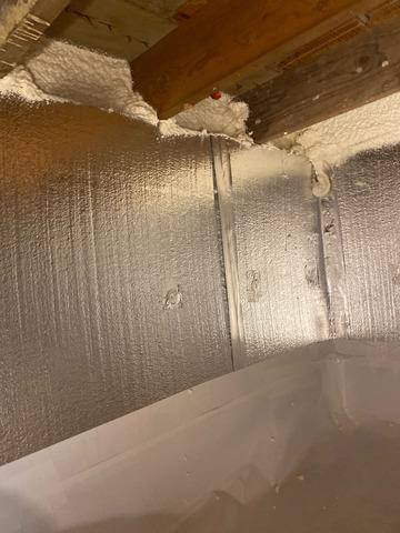 Small Crawlspace Encapsulation in Hingham, MA