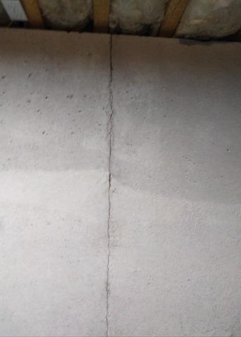Foundation Crack in Bourne, MA