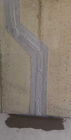 Dartmouth, MA Wall Crack Fix