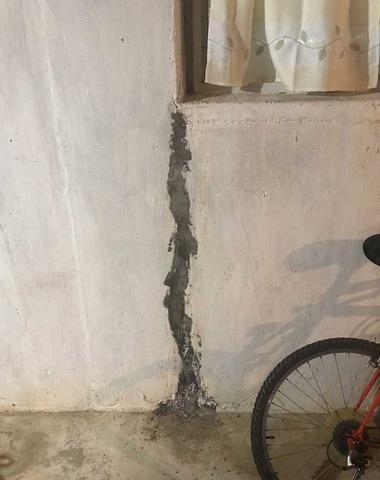 East Greenwich, RI Leaking Wall Crack