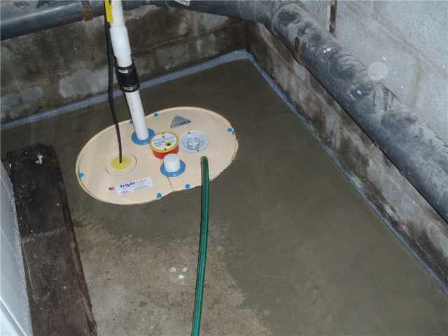 New sump pump in Somerset, MA!