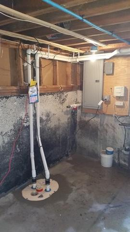 Basement Waterproofing to Help List Home in Medway, MA