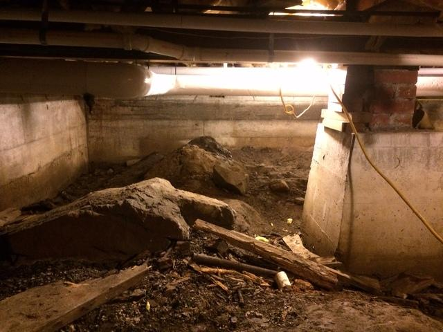 Hingham Crawlspace Transformed into CleanSpace!