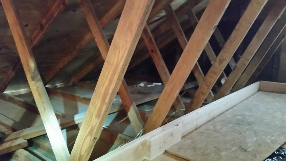 TAP installed in Toms River after mice infest and soil attic | Toms River, NJ Pest Control - Before Photo