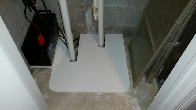 Sump pump in Seaside Heights, NJ needed cover