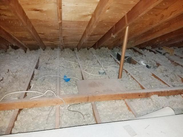 Additional pest control insulation added in Allenwood, NJ