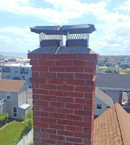 Chimney Covers Keep Birds Out of Belmar, NJ Home.
