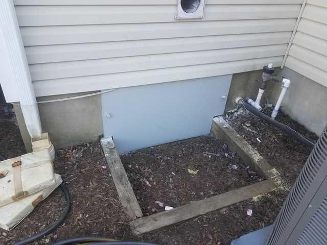 New crawl space access door installed in Oceanport, NJ