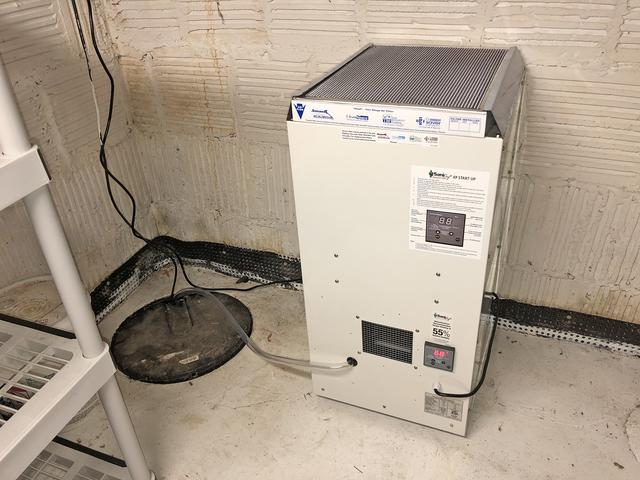 Homeowner Adds Dehumidifier to New Construction in Belmar, NJ