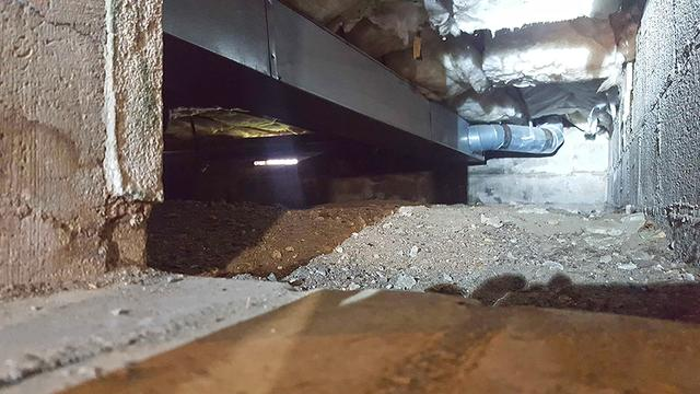 Crawl Space in Point Pleasant Beach, NJ Gets a Vapor Barrier Makeover