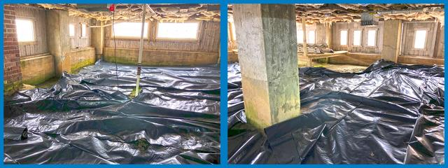 Coastal Crawl Space Gets Encapsulated in Bayville, NJ