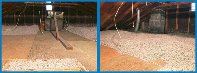 Under Insulated Attic in East Brunswick, NJ
