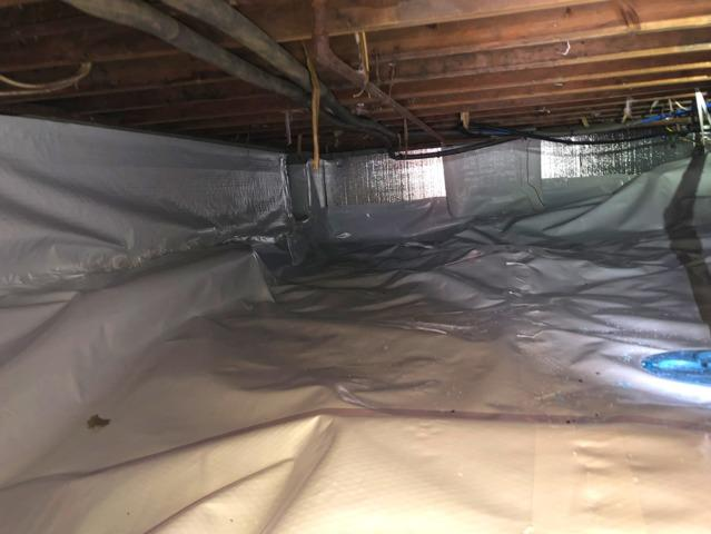 Cowleys Fixes Homeowners Wet Crawl Space in Rumson, NJ