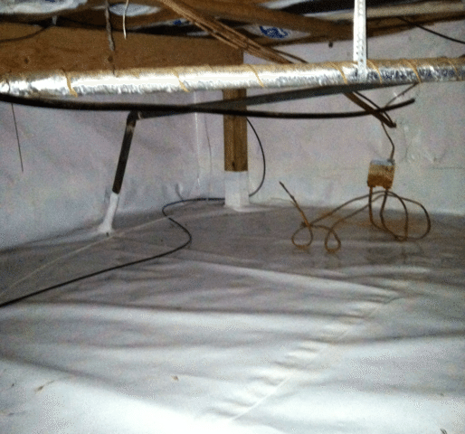 Crawl Space Encapsulation in Oceanport