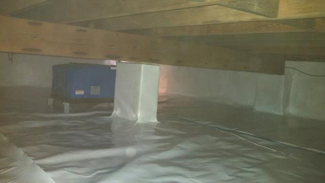 Crawl Space Encapsulation in Ocean Twp