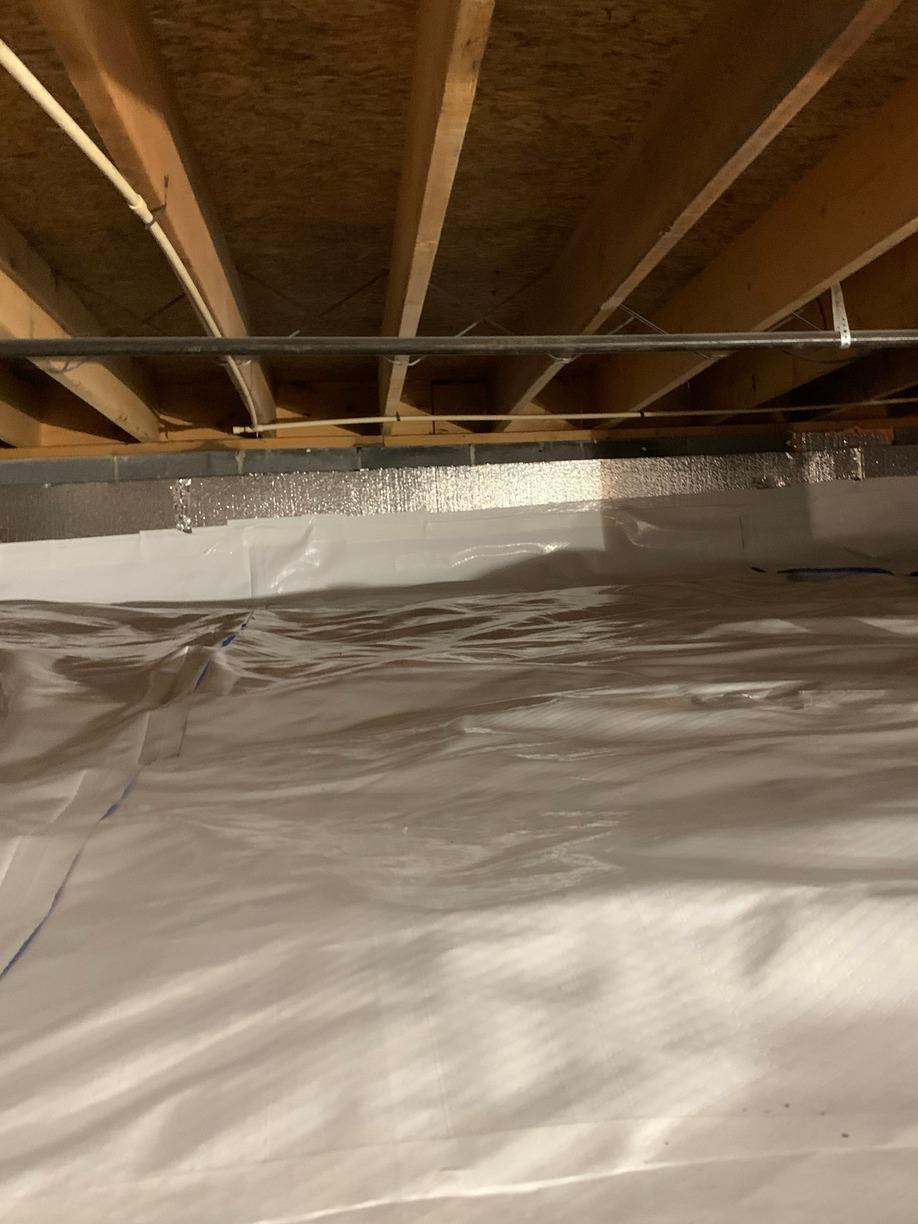 Encapsulating a Crawlspace in Rogersville, TN - After Photo