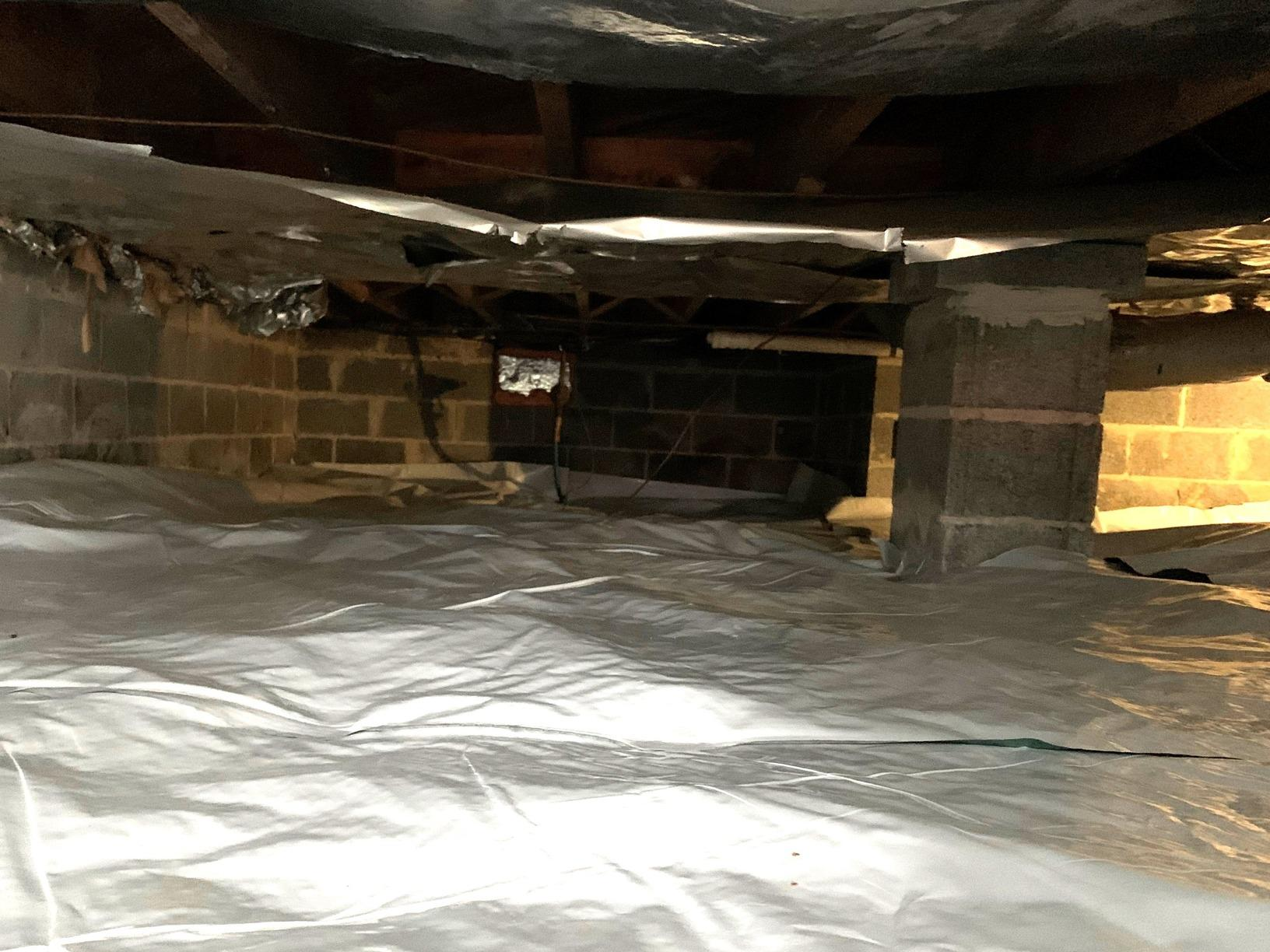 Keeping a Crawlspace Insulated in Bristol, TN - After Photo