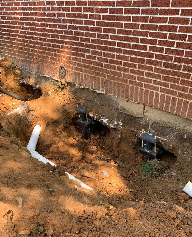 Foundation Repair Near Breaks, VA - After Photo