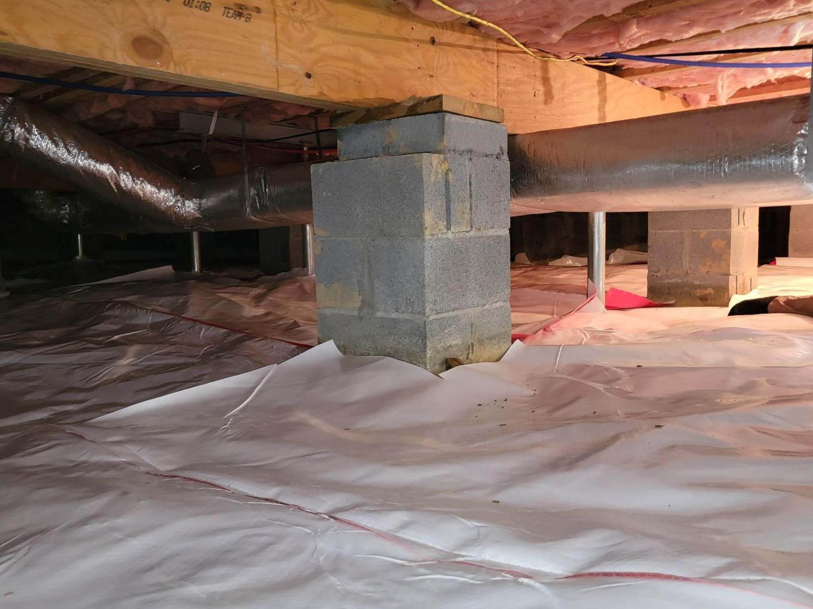 Repairing a Crawlspace Near Bandy, VA - After Photo