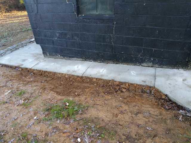 Raising a Sidewalk with PolyLyft in Alcoa, TN